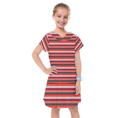 Stripey 13 Kids  Drop Waist Dress