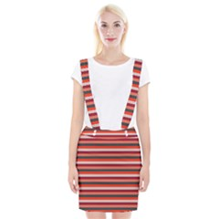 Stripey 13 Braces Suspender Skirt
