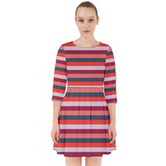Stripey 13 Smock Dress