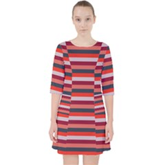 Stripey 13 Pocket Dress