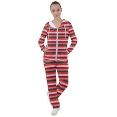 Stripey 13 Women s Tracksuit