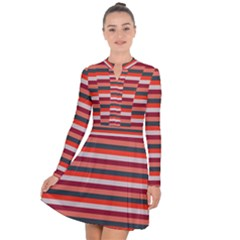 Stripey 13 Long Sleeve Panel Dress