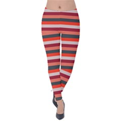 Stripey 13 Velvet Leggings