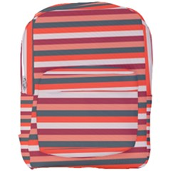 Stripey 13 Full Print Backpack