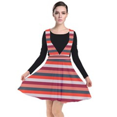 Stripey 13 Plunge Pinafore Dress