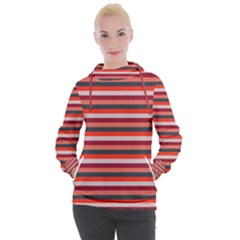 Stripey 13 Women s Hooded Pullover
