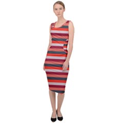 Stripey 13 Sleeveless Pencil Dress