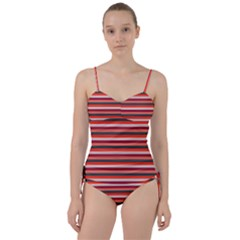Stripey 13 Sweetheart Tankini Set