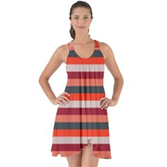Stripey 13 Show Some Back Chiffon Dress