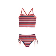 Stripey 13 Girls  Tankini Swimsuit