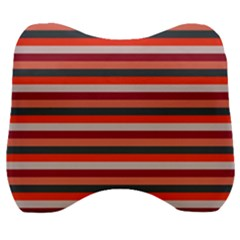 Stripey 13 Velour Head Support Cushion