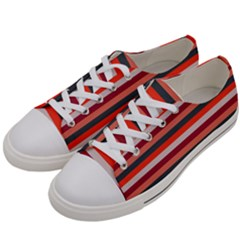 Stripey 13 Women s Low Top Canvas Sneakers