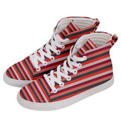 Stripey 13 Men s Hi-Top Skate Sneakers
