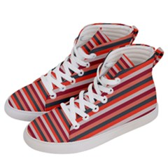Stripey 13 Women s Hi-Top Skate Sneakers