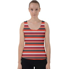 Stripey 13 Velvet Tank Top