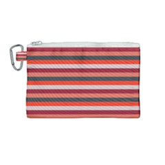 Stripey 13 Canvas Cosmetic Bag (Medium)