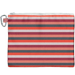 Stripey 13 Canvas Cosmetic Bag (XXXL)