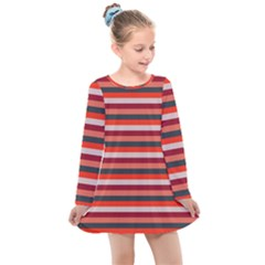 Stripey 13 Kids  Long Sleeve Dress