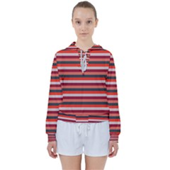 Stripey 13 Women s Tie Up Sweat