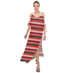 Stripey 13 Maxi Chiffon Cover Up Dress