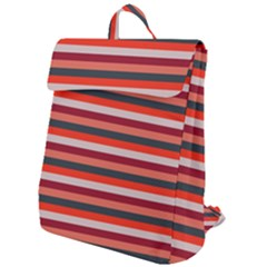 Stripey 13 Flap Top Backpack