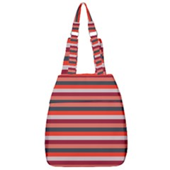 Stripey 13 Center Zip Backpack