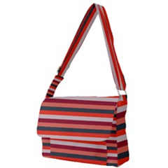 Stripey 13 Full Print Messenger Bag (S)