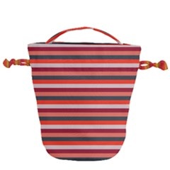 Stripey 13 Drawstring Bucket Bag