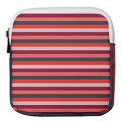 Stripey 13 Mini Square Pouch