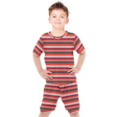 Stripey 13 Kids  Tee and Shorts Set