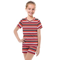 Stripey 13 Kids  Mesh Tee and Shorts Set