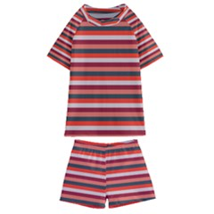 Stripey 13 Kids  Swim Tee and Shorts Set