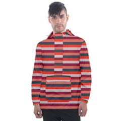 Stripey 13 Men s Front Pocket Pullover Windbreaker