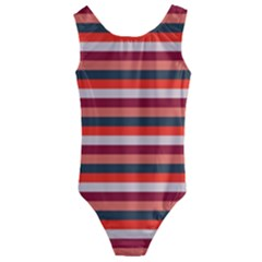 Stripey 13 Kids  Cut-Out Back One Piece Swimsuit