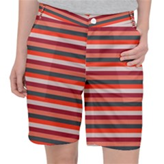 Stripey 13 Pocket Shorts