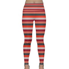 Stripey 13 Lightweight Velour Classic Yoga Leggings