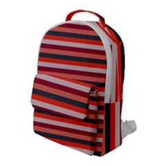 Stripey 13 Flap Pocket Backpack (Large)