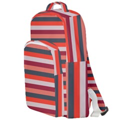 Stripey 13 Double Compartment Backpack
