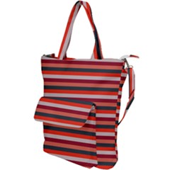 Stripey 13 Shoulder Tote Bag