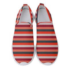 Stripey 13 Women s Slip On Sneakers