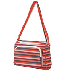 Stripey 13 Front Pocket Crossbody Bag