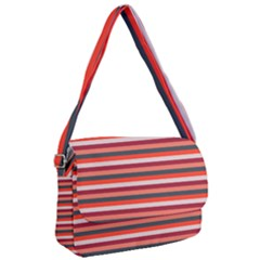Stripey 13 Courier Bag