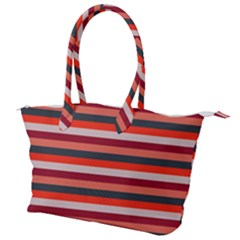 Stripey 13 Canvas Shoulder Bag