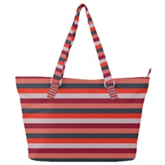 Stripey 13 Full Print Shoulder Bag