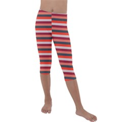 Stripey 13 Kids  Lightweight Velour Capri Leggings