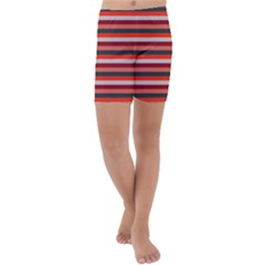 Stripey 13 Kids  Lightweight Velour Capri Yoga Leggings