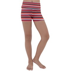 Stripey 13 Kids  Lightweight Velour Yoga Shorts