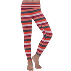 Stripey 13 Kids  Lightweight Velour Classic Yoga Leggings