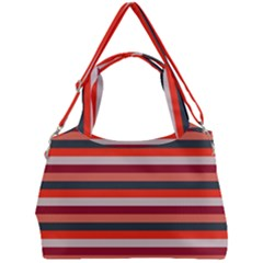 Stripey 13 Double Compartment Shoulder Bag