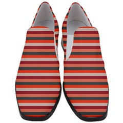 Stripey 13 Women Slip On Heel Loafers